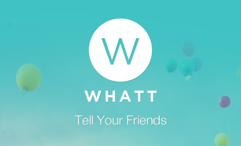 Whatt launches as Whatsapp for Status Updates