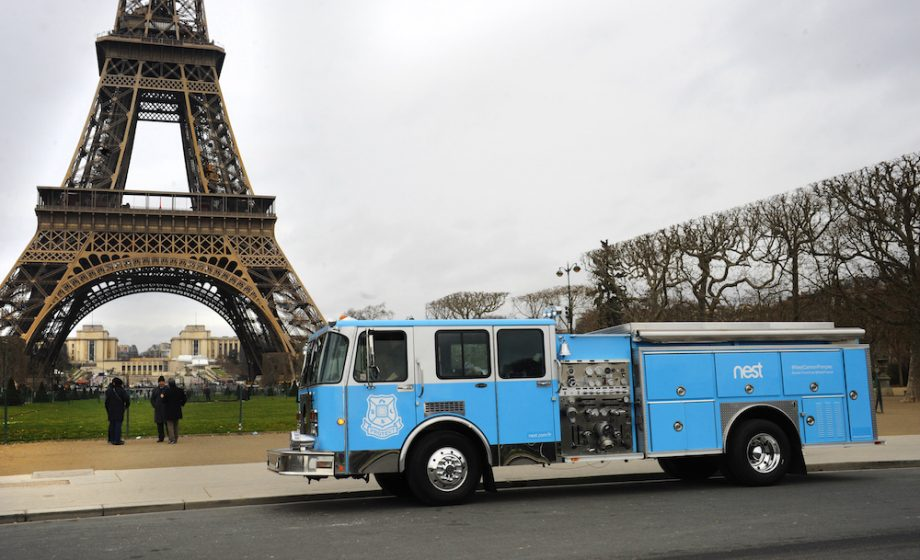 When competition heats up in France, Nest brings a Fire Truck