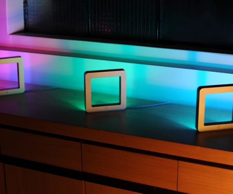 Check out the connected lamp that sets the mood based on your music selection