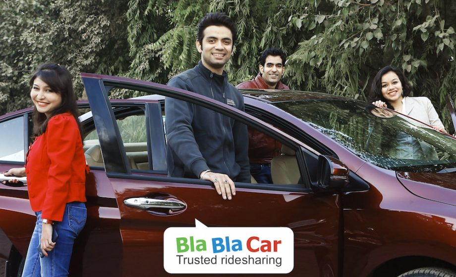 Blablacar launches in India