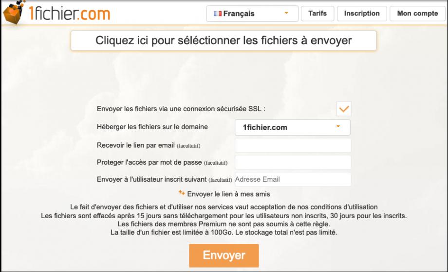 1fichier.com, ou la culture de l'ambiguïté juridique