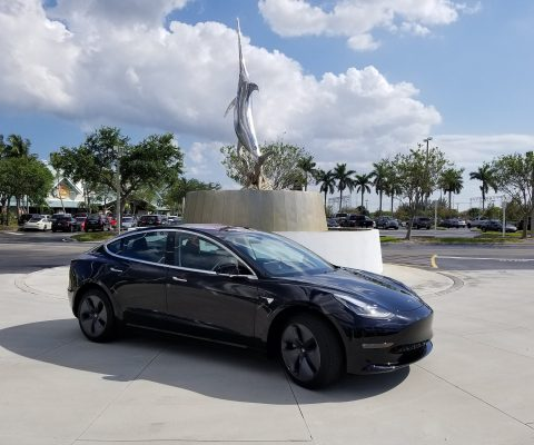 Tesla reports record production, with shares on the rise