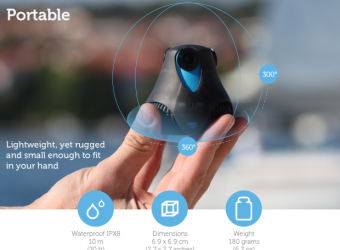 Giroptic hits it big on Kickstarter with their Full HD 360° 3D Camera
