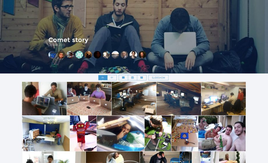 Comet might be the easiest way to gather pictures with your friends