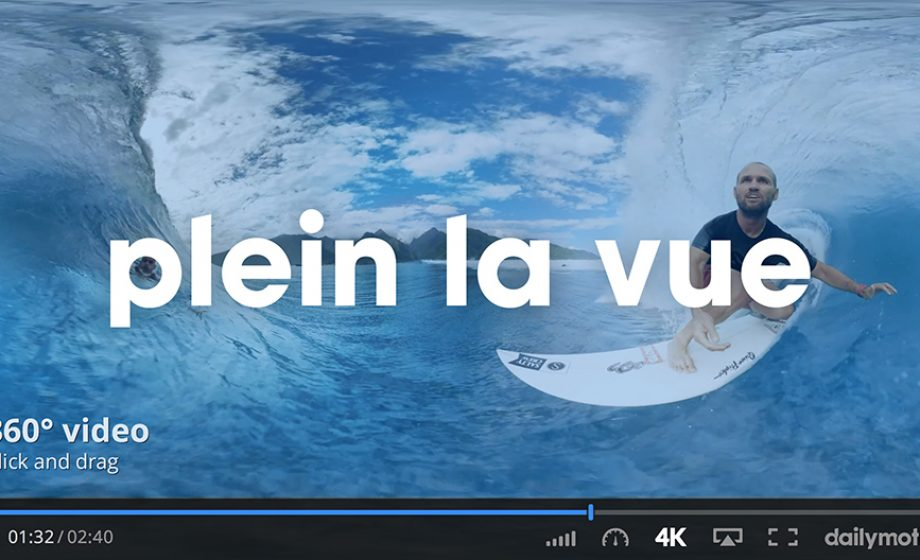 Dailymotion's new 360° feature and France's bid for virtual reality