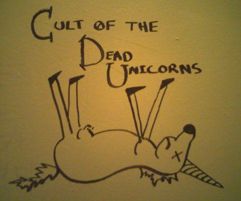 Plus de la moitié des licornes sont de vieux poneys sans corne!