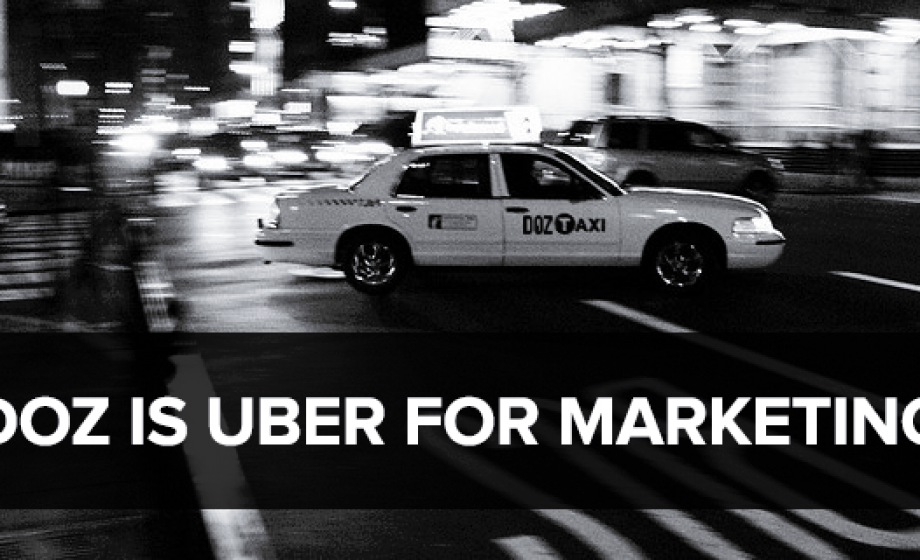 """Uber for Marketing"" DOZ raised $1 Million from Nexus, 500 Startups & Kima"