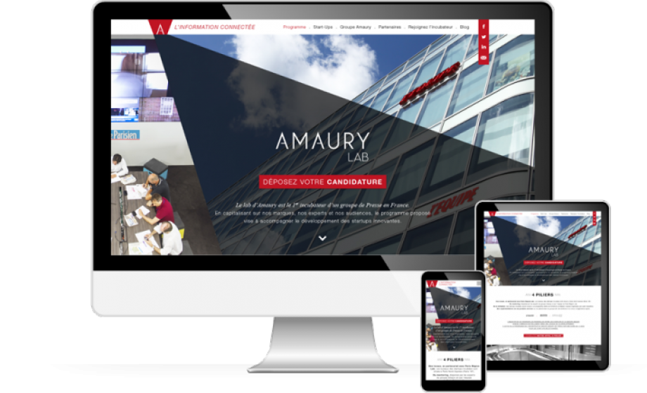 Amaury partners with Paris Region Lab to launch France's first press incubator