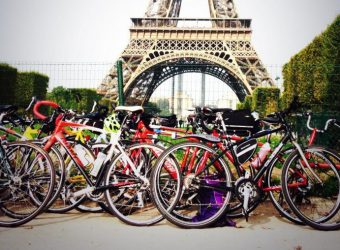 Cycling for charity, 70 techies depart from Paris for a 200km, 2-day ride to London
