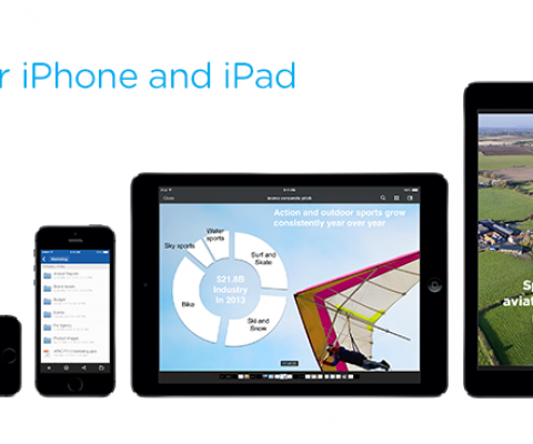 """After its Folders acquisition, a big iOS update affirms Box's position as """"cloud meets mobile"""""""