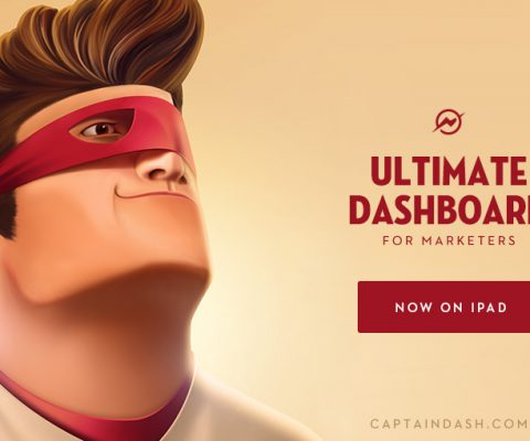Captain Dash's new iPad app dashboard for CMOs tops the App Store charts as #5 Business App