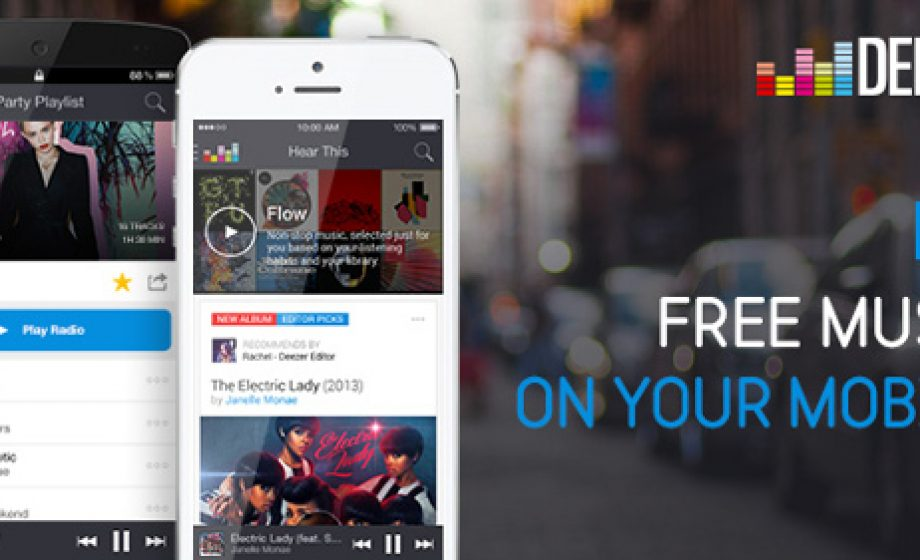 "Preparing for launch in the US, Deezer launches ""Flow,"" a free mobile service"