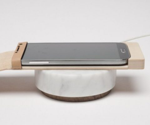Orée Design expands its sustainable tech collection to include marble chargers & wooden touchpads