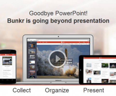 Bunkr launches its Powerpoint killer to get rid of the 'blank page' syndrome