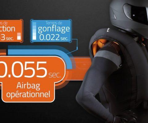 In&Motion et son boitier pour gilet airbag pour la moto lève 10 millions d'euros