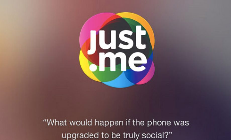 Just.me combines social, storage, and messaging into one mobile app