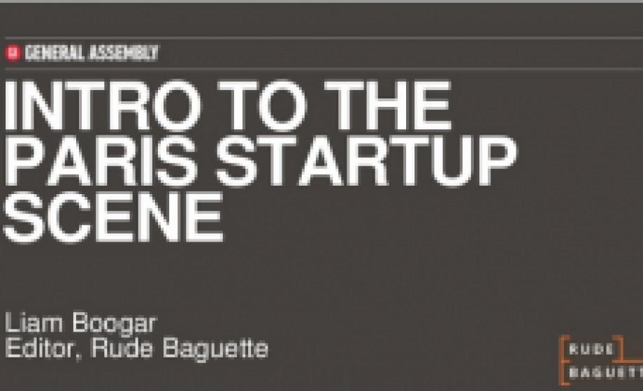 Berliners! Join us Jan. 23rd for an Intro to the Paris Startup Scene
