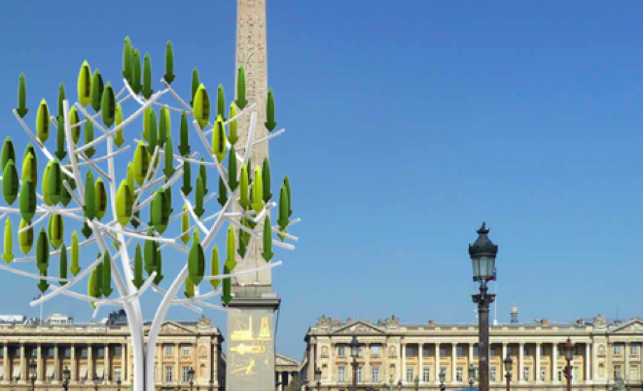 NewWind raises €1.1 Million for its Urban Tree-Shaped Wind Turbine