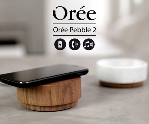 Orée launches KickStarter Campaign for their all wood, wireless charger & bluetooth speaker