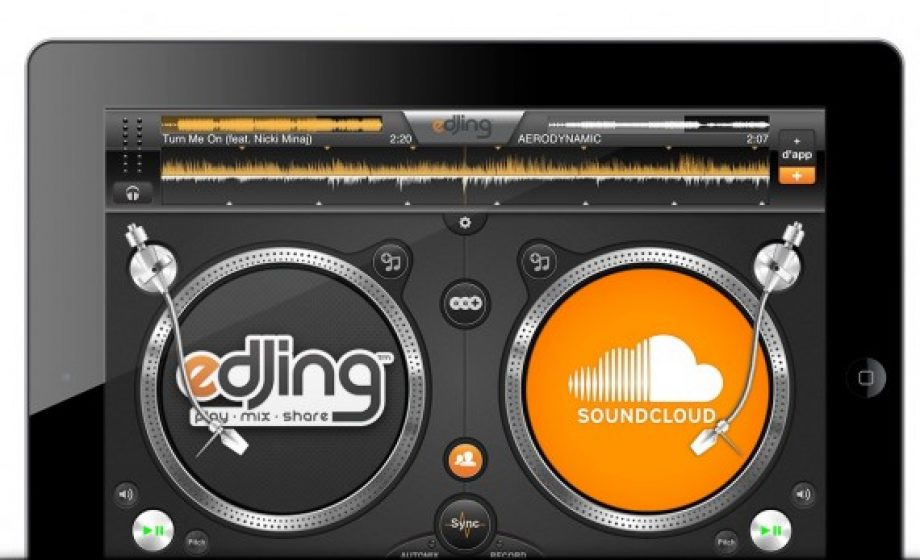 eDJing launches Soundcloud integration to let DJS mix Soundcloud from their iPhones