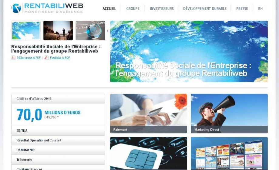 Rentabiliweb announces payments deal with a slew of French e-commerce giants