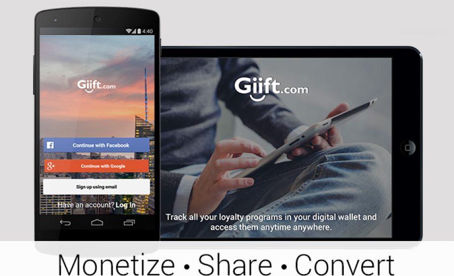 Giift seeks to disrupt the multi-billion dollar Loyalty program market