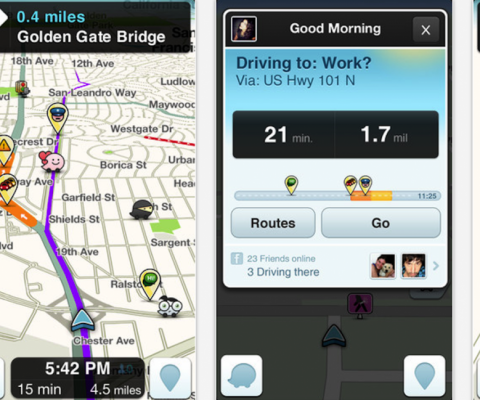 "French GPS service Coyote to take Waze to court over ""unfair competition"""