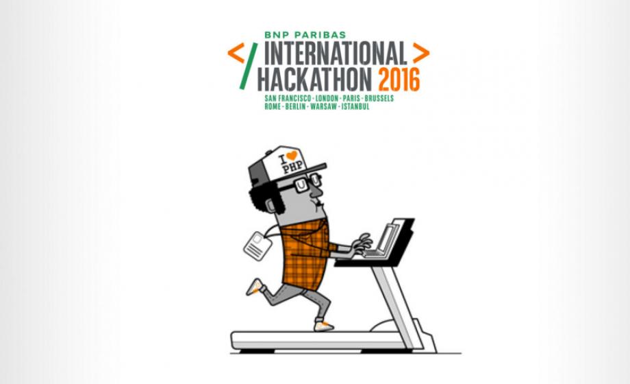 BNP Paribas International Hackathon 2016 will take place in 8 cities