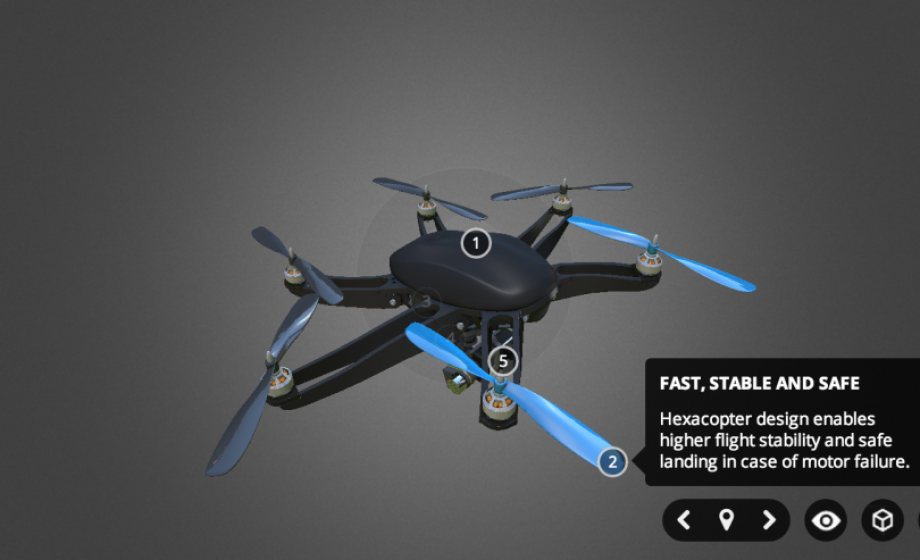Sketchfab crosses 150K uploads, adds Genius-like 3D Annotations