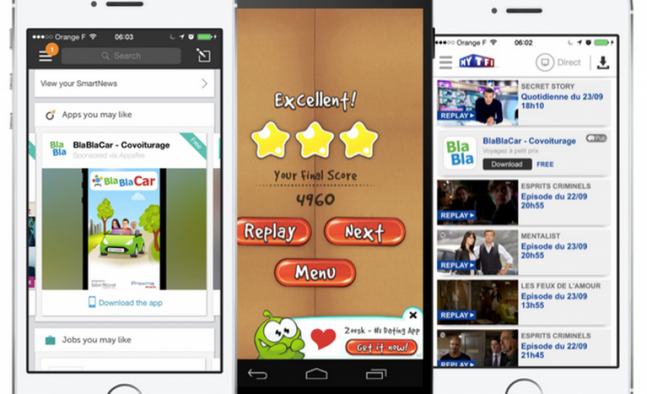 Appsfire's native ad network seduces app publishers worldwide