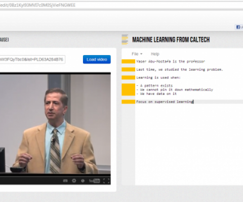 Unishared launches VideoNotes, a Google Drive App that allows you to take notes during your online courses