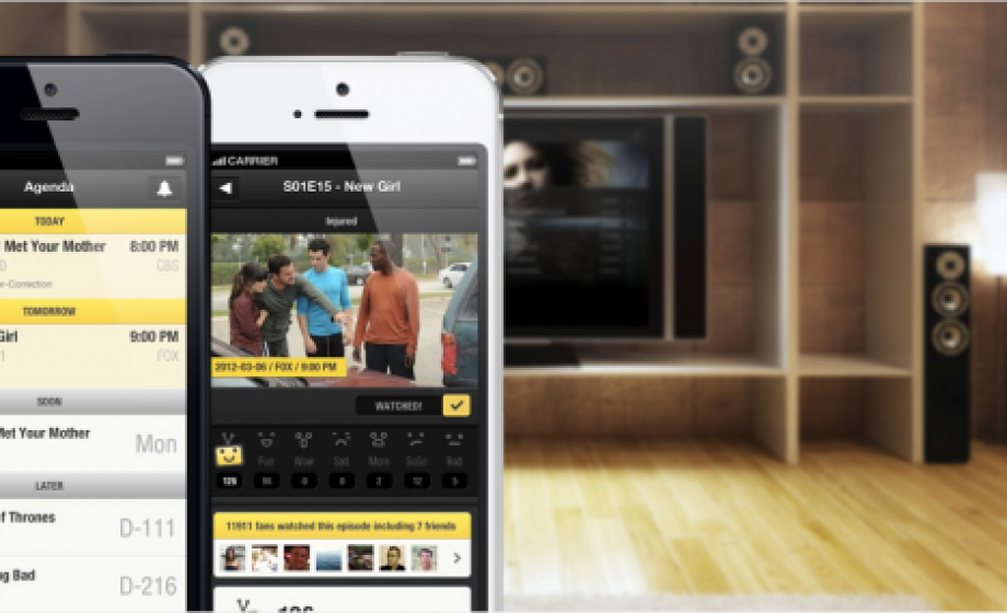 TvShow Time raises €500K & brings its mobile TV guide to the web