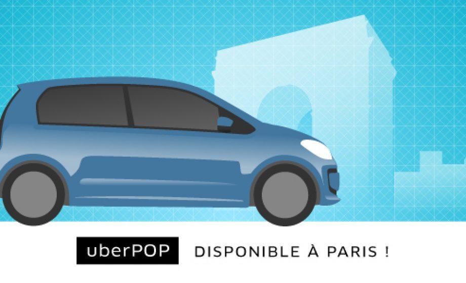 Uber to tackle urban ridesharing, launches UberPop in Paris