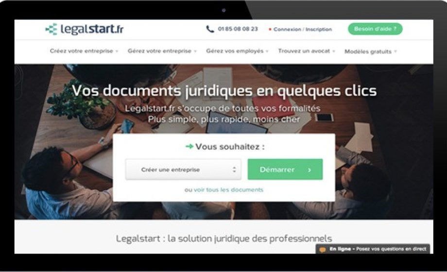 Legalstart aims to eliminate the legal and admin pain for SMEs