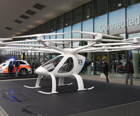 UK-based firm will unveil world's first flying taxi hub in Singapore