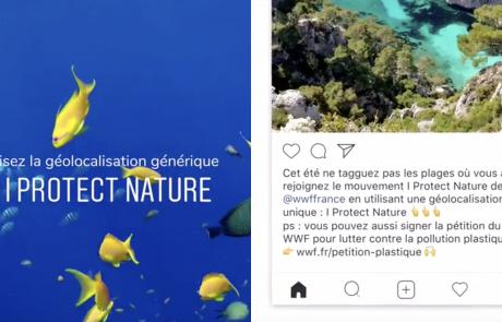 Le WWF créé une fausse géolocalisation pour protéger les sites naturels
