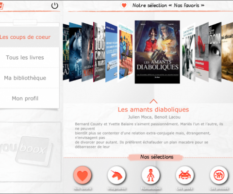 Youboox raises €1.1 Million led by Atlas Editions to become the Spotify of eBooks
