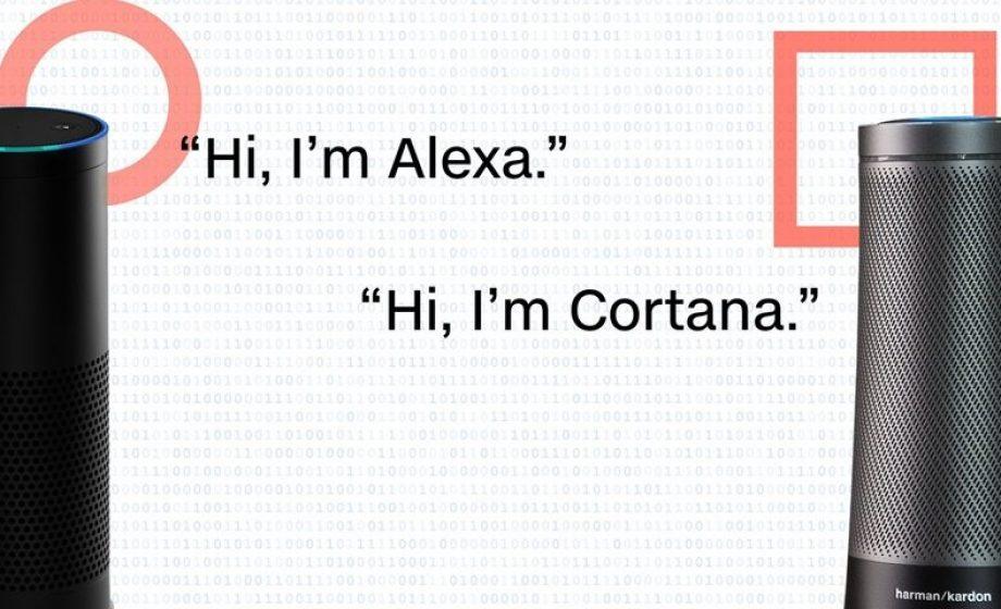 Amazon et Microsoft présentent la plateforme commune à Alexa et Cortana