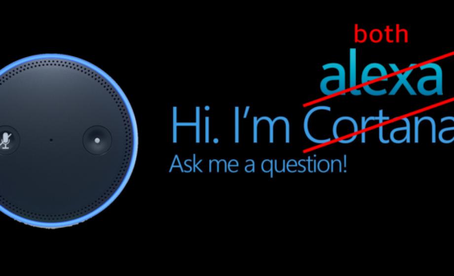 Assistants personnels: Alexa (Amazon) et Cortana (Microsoft) se rapprochent