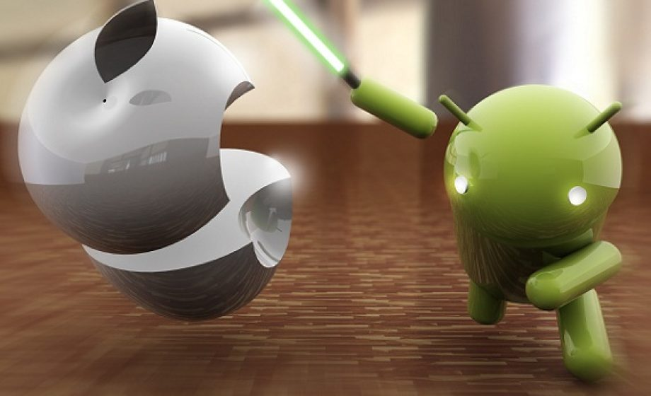 Android dominating mobile sales across Europe