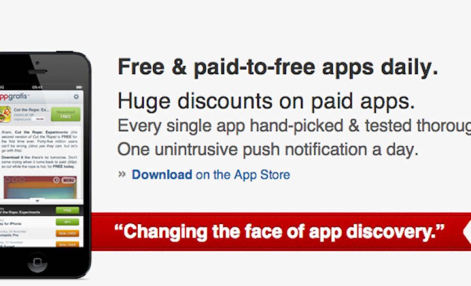 AppGratis says Apple approved their iPad app one day before pulling their iPhone App
