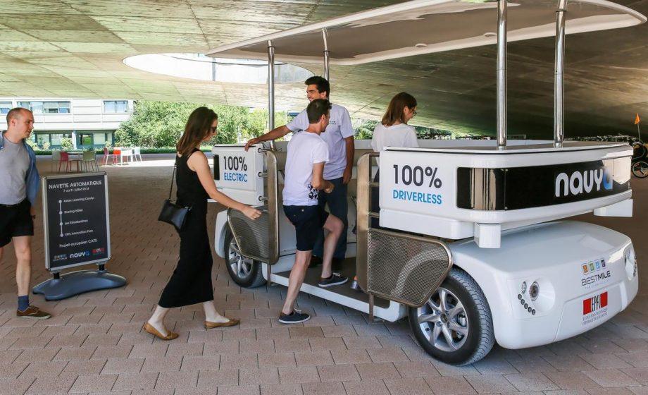 Véhicules autonomes: gros plan sur Bestmile, la start-up suisse qui vient de lever 2 millions de dollars