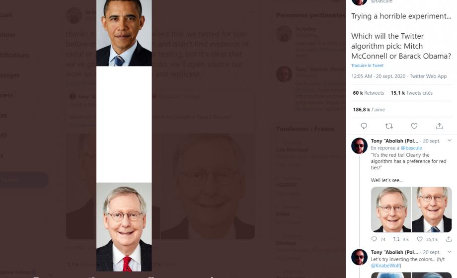 Pour éviter les biais racistes, Twitter change le système d'aperçu des photos