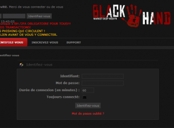 Rex Mundi, Black Hand : coup de filet contre le cybercrime français !