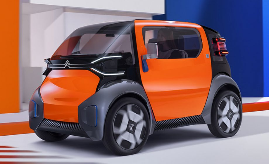 Citroën AmiOne : une petite citadine électrique pensé pour l'autopartage