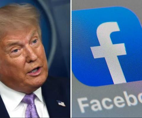 Le compte de Donald Trump bloqué «indéfiniment» par Facebook