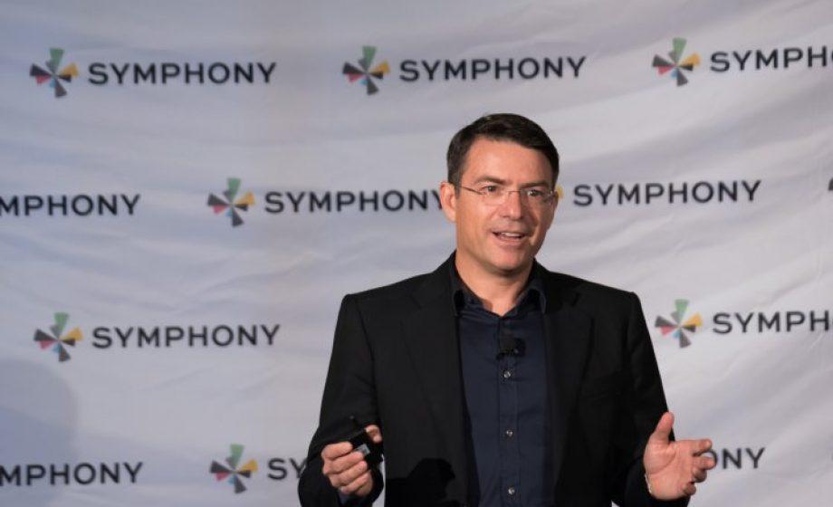 Symphony, créée par le Français David Gurlé, boucle un tour de table de 63 millions de dollars