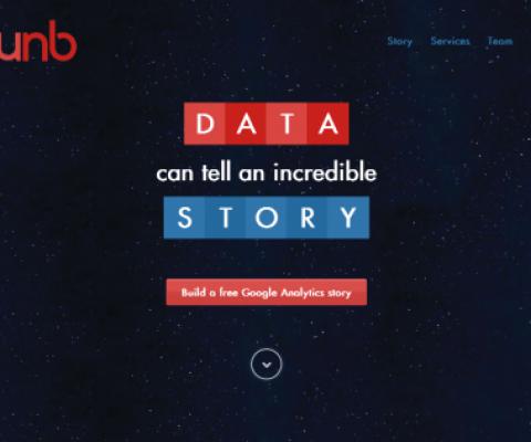 The latest qunb layout makes visualizing your Google Analytics data super easy