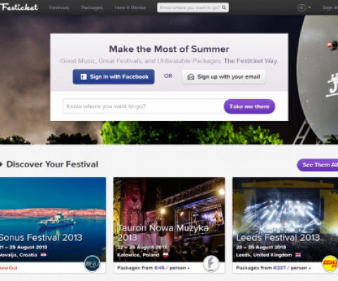 Festicket partners with Digitick, France's biggest e-ticket retailer, to bring festival packages to France