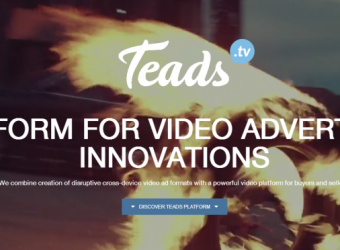 Partech & Elaia invest €4 Million in automated Video Ad Platform Teads
